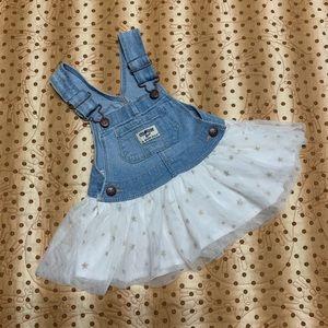 OshKosh B'Gosh Denim overall dress